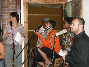 1st Sanctuary Worldbeat Session vocals1 July 2011